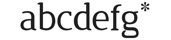 Typographie Jura