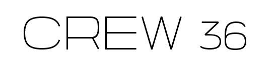 Typographie CREW 36