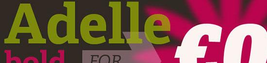 Typographie Adelle