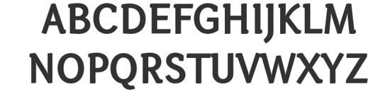 Typographie Otari