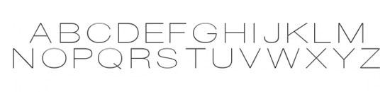 Typographie DISCO