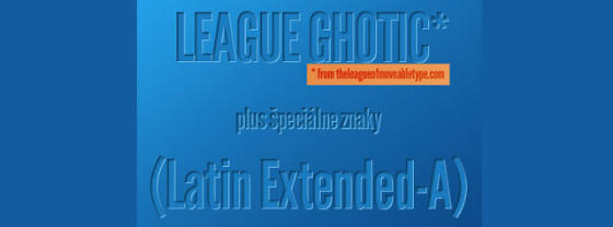 League Gothic Extended Italic (tt)