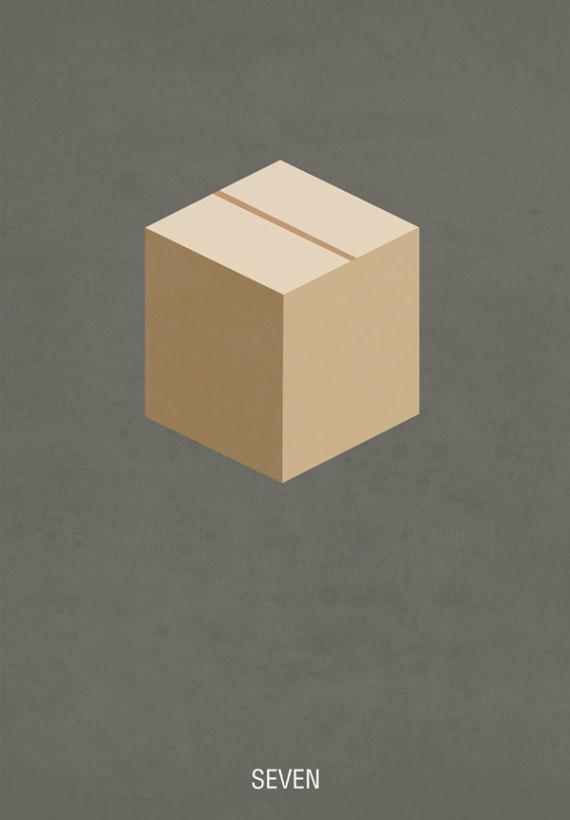 affiche minimaliste de film 01