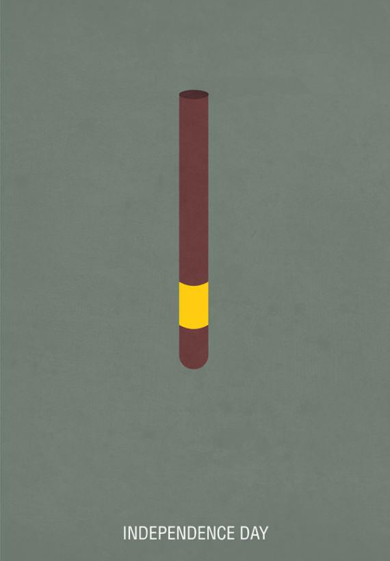 affiche minimaliste de film 08