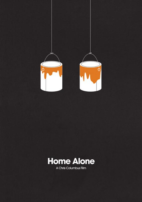 affiche minimaliste de film 09