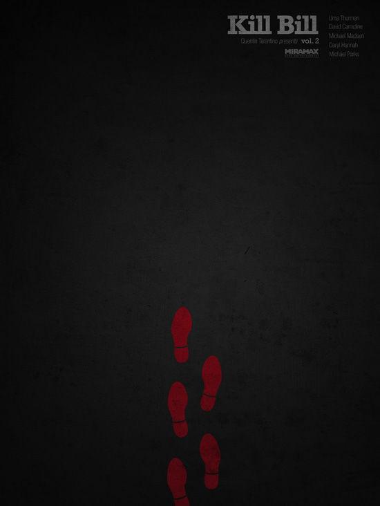 affiche minimaliste de film 10