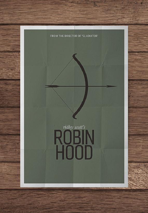 affiche minimaliste de film 11