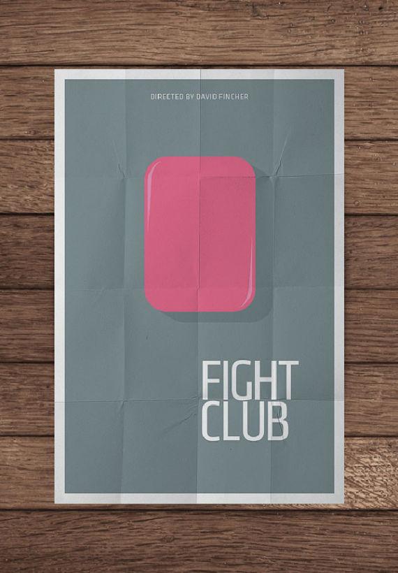 affiche minimaliste de film 16