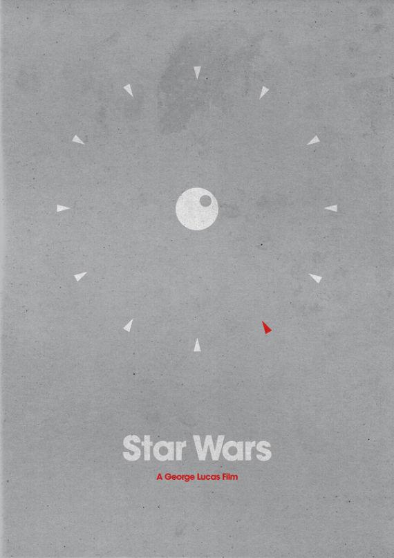 affiche minimaliste de film 18