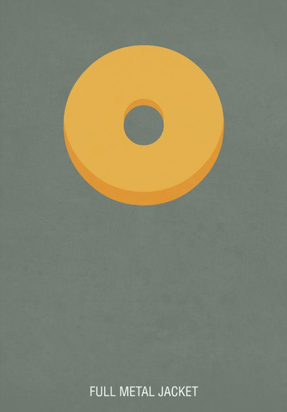 affiche minimaliste de film 20