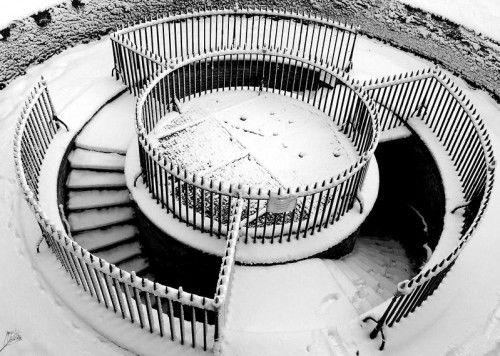 Escalier design en colimaçon