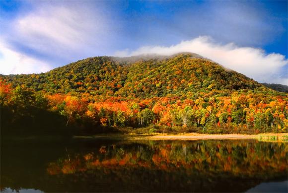 L'automne au Vermont
