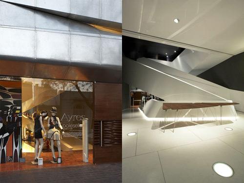 Ayres 01 Design, concept et architecture de magasins et de boutiques