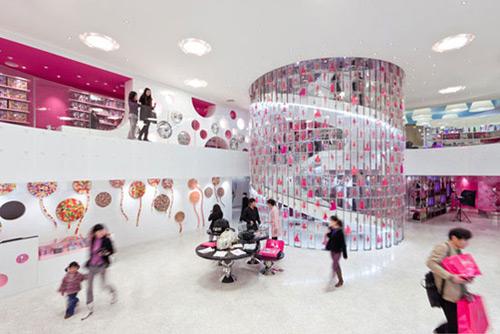 Barbie 01 Design, concept et architecture de magasins et de boutiques