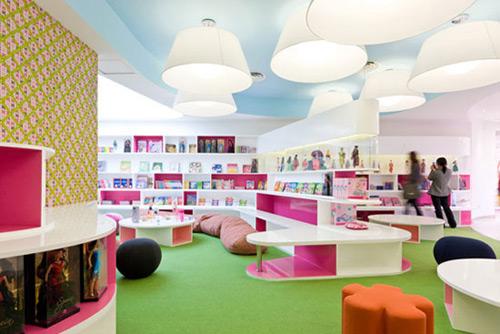 Barbie 04 Design, concept et architecture de magasins et de boutiques