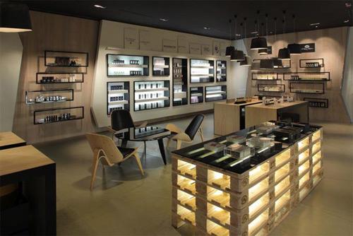 Creme de la Creme 01 Design, concept et architecture de magasins et de boutiques