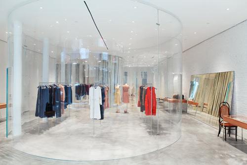 Derek Lam 01 Design, concept et architecture de magasins et de boutiques