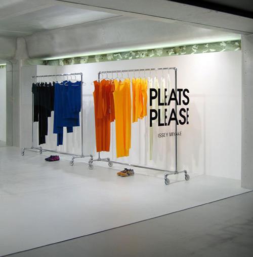 Issey Miyake Pleats Please 02 Design, concept et architecture de magasins et de boutiques