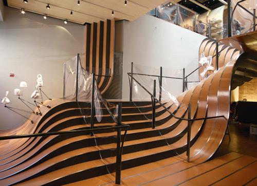 Longchamp 01 Design, concept et architecture de magasins et de boutiques
