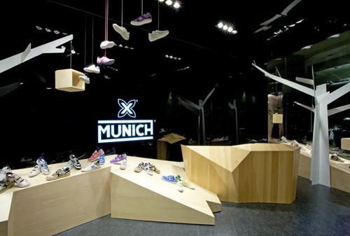 Munich 01 Design, concept et architecture de magasins et de boutiques