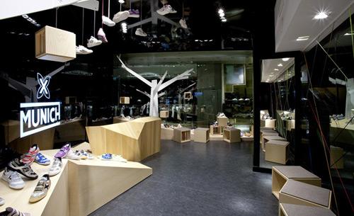 Munich 02 Design, concept et architecture de magasins et de boutiques