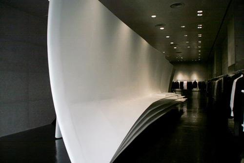 Neil Barrett 02 Design, concept et architecture de magasins et de boutiques