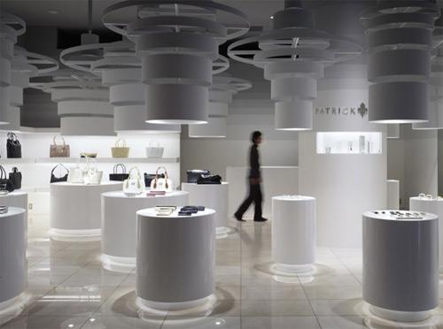 Patrick Cox 01 Design, concept et architecture de magasins et de boutiques