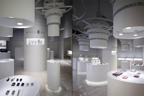 Patrick Cox 02 Design, concept et architecture de magasins et de boutiques