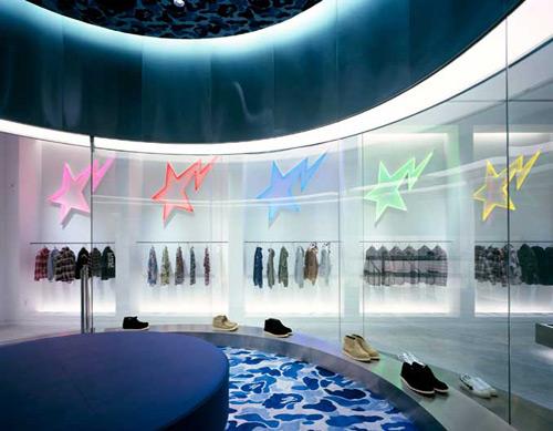 bape 02 Design, concept et architecture de magasins et de boutiques