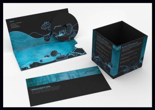 Design brochures imprimées