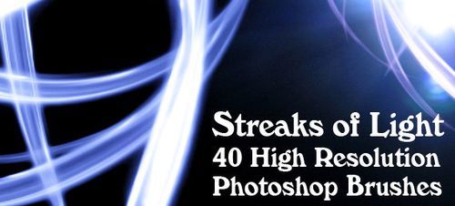 43 collection de brushes, d'actions, de styles pour Photoshop