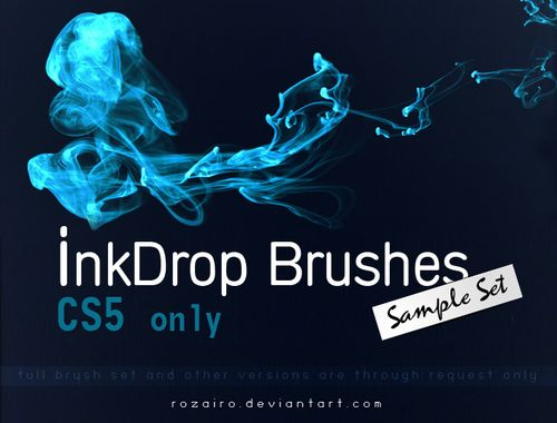 511 collection de brushes, d'actions, de styles pour Photoshop