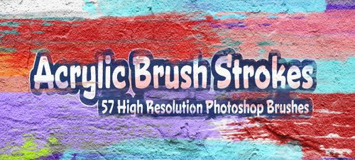 54 collection de brushes, d'actions, de styles pour Photoshop
