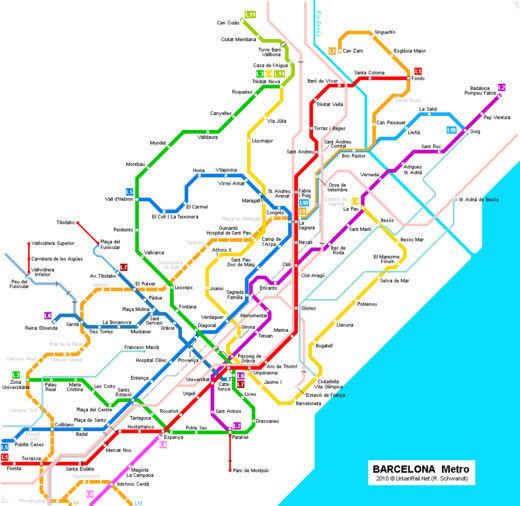 cartes-souterraines26 dans les métros à travers le monde