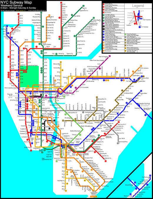 cartes-souterraines5 dans les métros à travers le monde