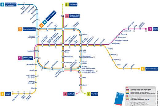 cartes-souterraines54 dans les métros à travers le monde