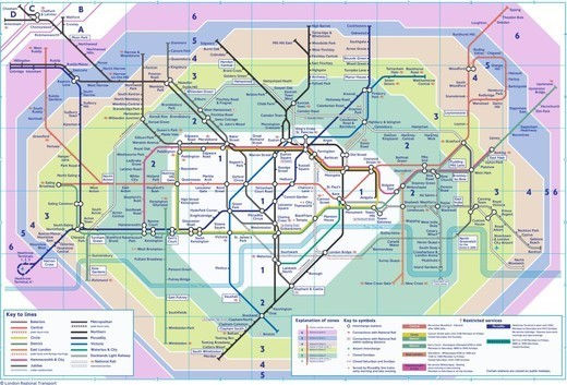 cartes-souterraines7 dans les métros à travers le monde