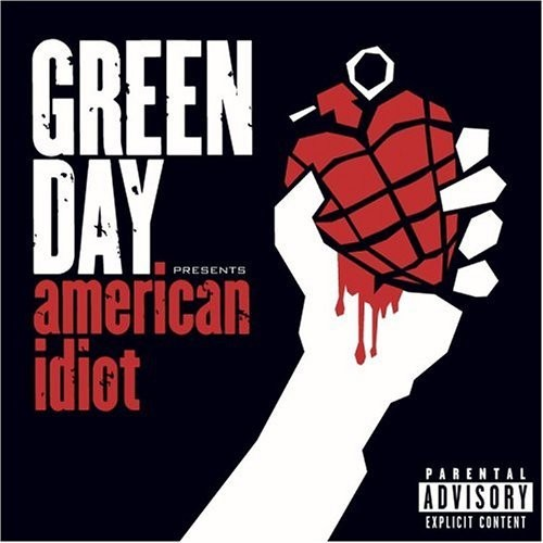 CD de Green Day – American idiot