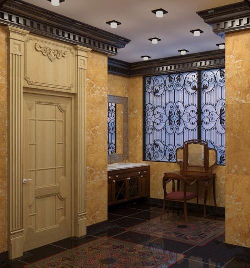 Rendu 3D design d'intérieur
