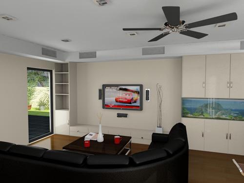 modèle 3d architectural