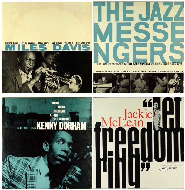 Blue Note sleeves design de disque compact 01