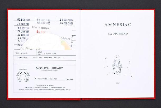 Radiohead - inspiration pochettes de cd - 06