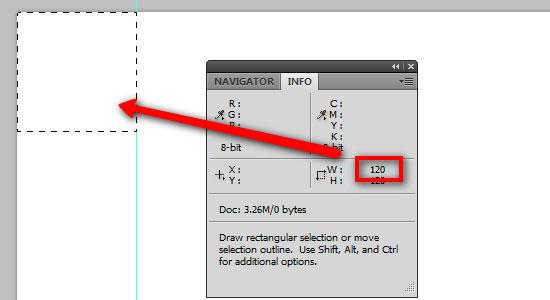 Préparez votre document Photoshop