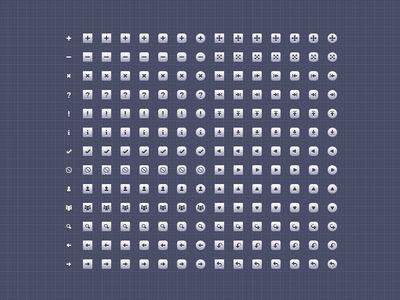 Boîte à outils de 128 icônes