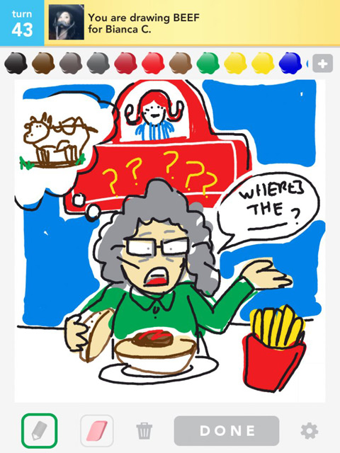 draw something beef