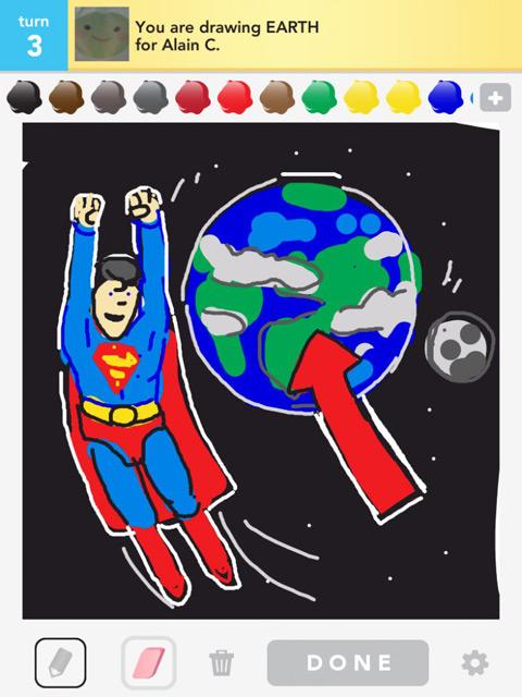 draw something earth