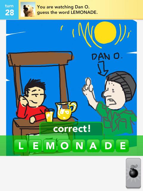 draw something lemonade