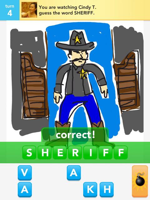 draw something sheriff