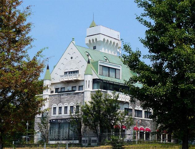 Weird building - Harajuku, Tokyo