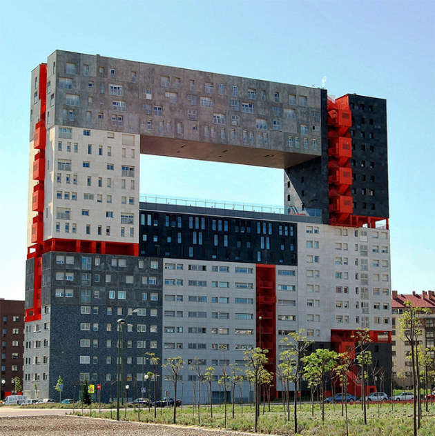 40 difices architecturaux hors normes couper le souffle for Photos architecture batiment